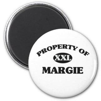Property of MARGIE Refrigerator Magnet