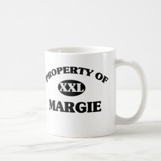 Property of MARGIE Coffee Mugs