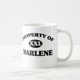 Property of MARLENE Coffee Mug