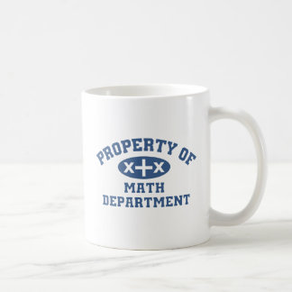 Property Of Math Department Coffee Mug