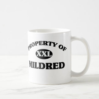 Property of MILDRED Coffee Mugs