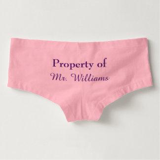 Property of Mr. Panties