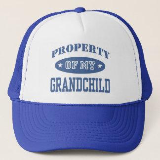 Property of My Grandchild Trucker Hat