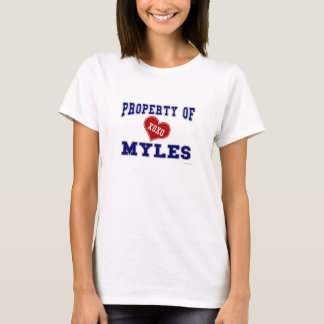 Property of Myles T-Shirt