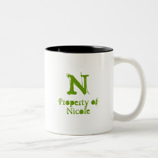 Property of *NAME* Mug