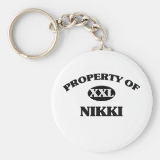 Property of NIKKI Key Chains