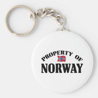 Property Of Norway Key Ring