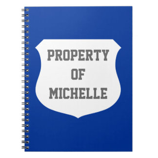 Property of notebook | School supplies for kids