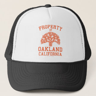 Property of Oakland Orange Hat