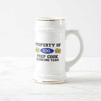 Property of Prep Cook Drinking Team Coffee Mugs