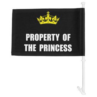 Property Of Princess Car Flag
