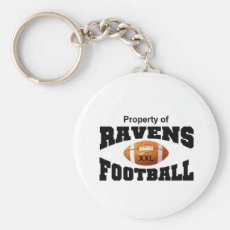 Property of Ravens Key Ring