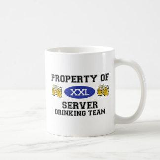 Property of Server Drinking Team Mugs