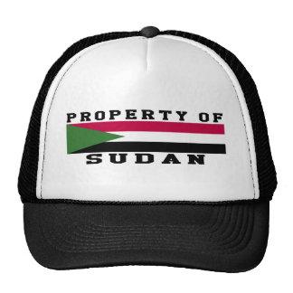 Property Of Sudan Hat