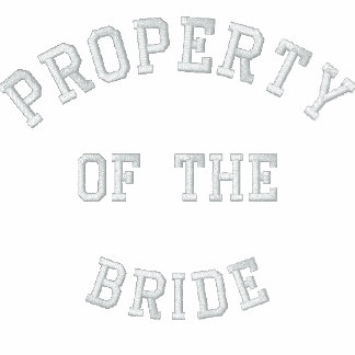 Property of the Bride Hoodie