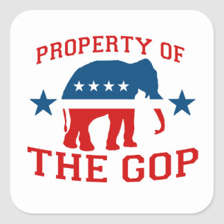 PROPERTY OF THE GOP STICKER