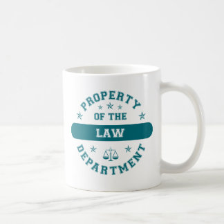 Property of the Law Department Coffee Mug