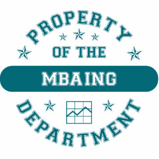 Property of the MBAing Department Photo Cut Out