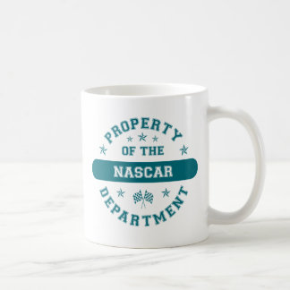 Property of the NASCAR Department Mugs