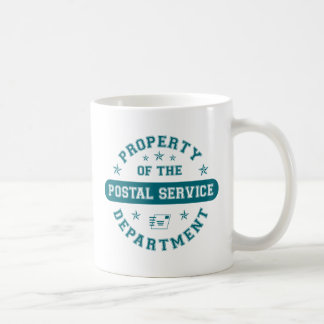 Property of the Postal Service Department Mugs