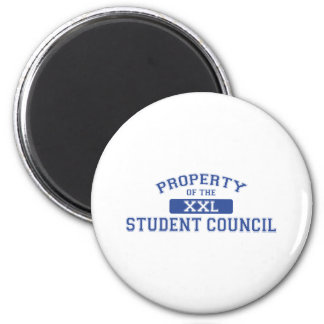 Property Of The Student Council XXL 6 Cm Round Magnet