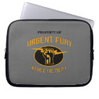 Property of Urgent Fury Electronics Sleve Laptop Sleeve