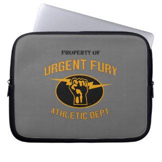 Property of Urgent Fury Electronics Sleve Computer Sleeve