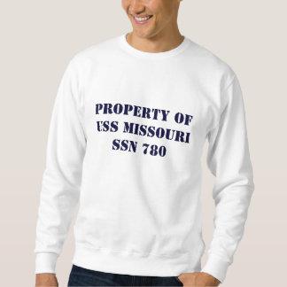 Property of USS Missouri Sweatshirt