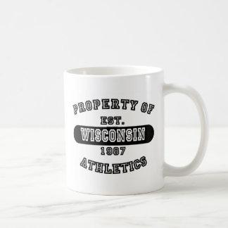 Property of Wisconsin shirts Mugs