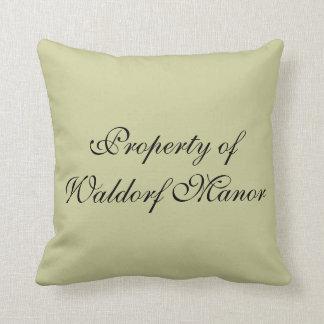 Property of WM throw pillow