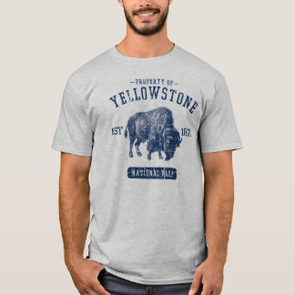 Property of Yellowstone National Park T-Shirt