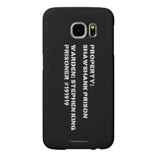 Property: Shawshank Prison Samsung Galaxy S6 Cases