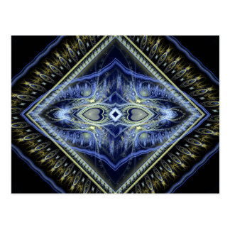 Prophecy Fractal Art Post Card