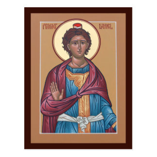 Prophet Daniel Prayer Card Postcard