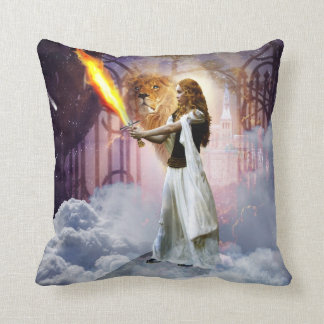 prophetic art created by Dolores DeVelde Cushion