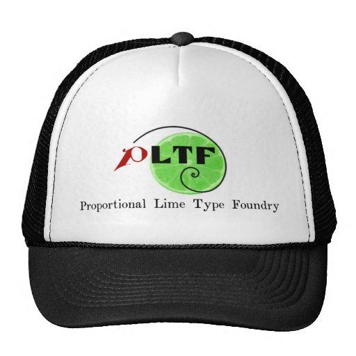 Proportional Lime Type Foundry hat