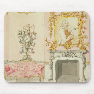 Proposal for a drawing room interior, 1755-60 (w/c mouse pad