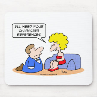 proposal four character references mouse pads
