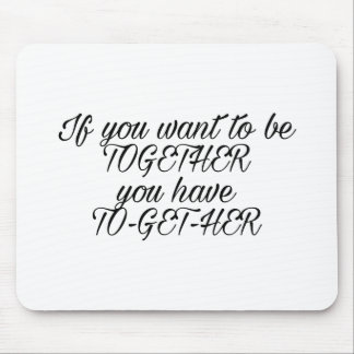 Proposal quote mouse pad