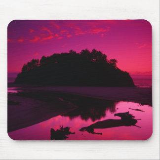 Proposal Rock Sunset Neskowin Beach Mouse Pad