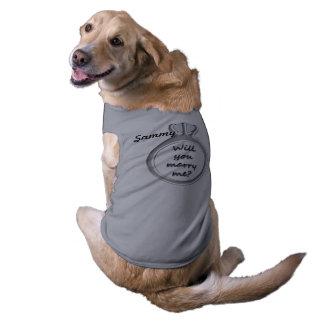 PROPOSAL SLEEVELESS DOG SHIRT