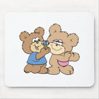 proposal wedding bears mouse pads