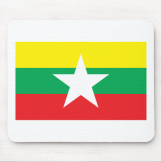 Proposed Myanmar Flag 2007 Mouse Pad