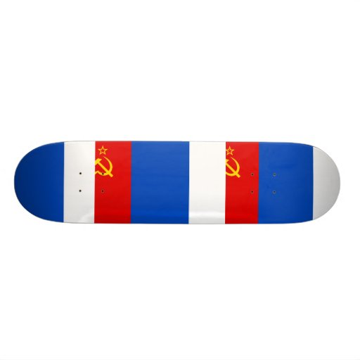 Proposed Pridnestrovie flag Skate Decks