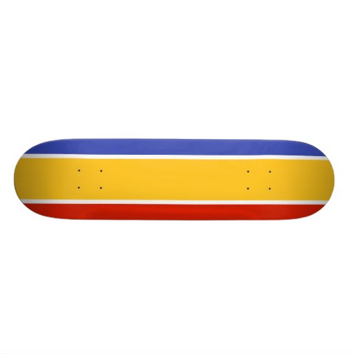 Proposed The United Cyprus Republic flag Skateboards