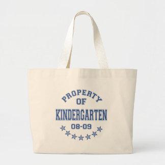 Proprty Of Kindergarten Bags