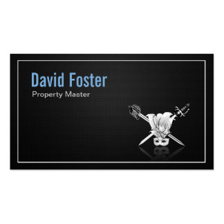 Props Property Master Manager Assistant Pack Of Standard Business Cards