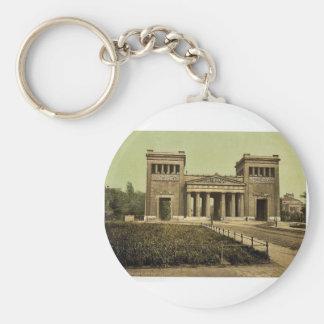 Propylaea, Munich, Bavaria, Germany rare Photochro Key Chain