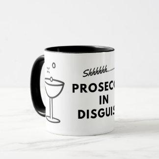 Prosecco in disguise coffee mug