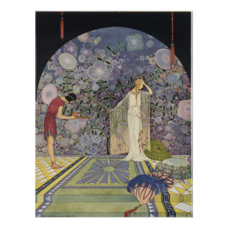 Proserpina in Pluto's Palace Poster